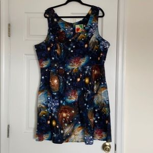 ModCloth Plus Size Space Dress